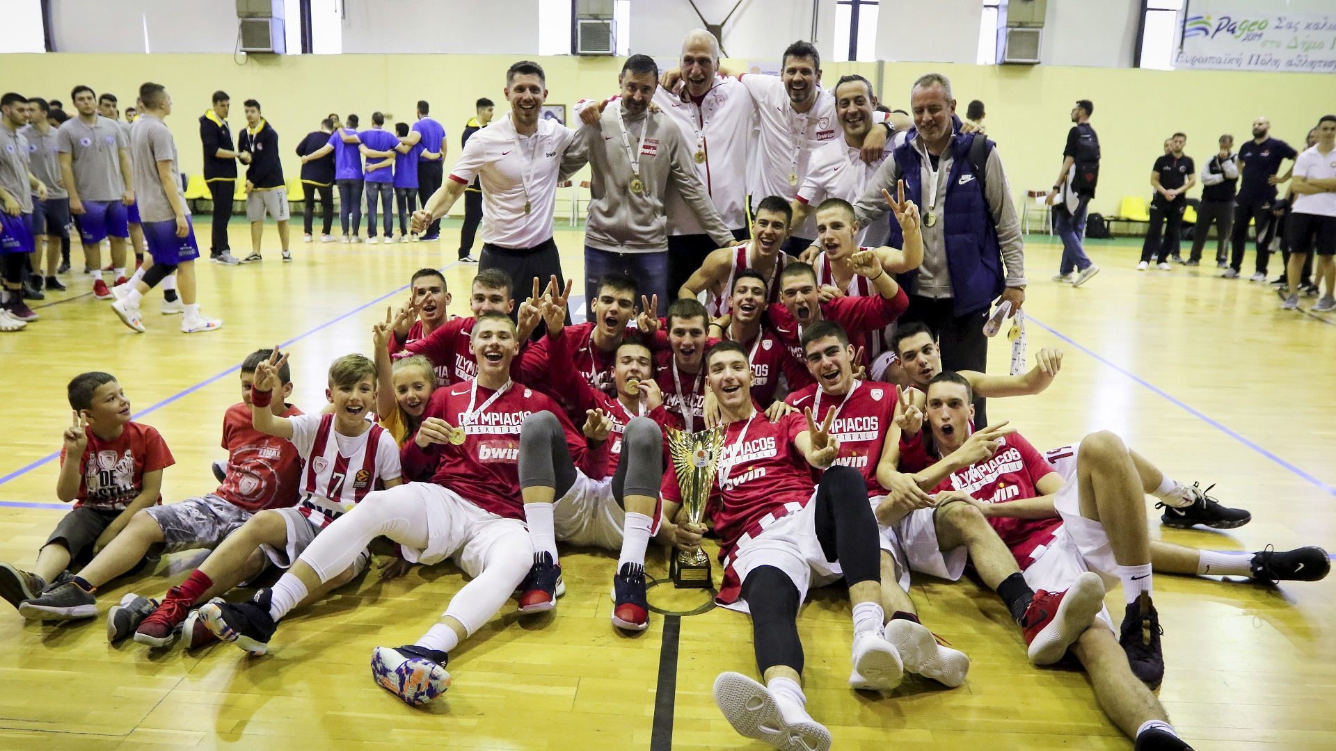 Back to back Greek Championship for the Olympiacos' Juniors!