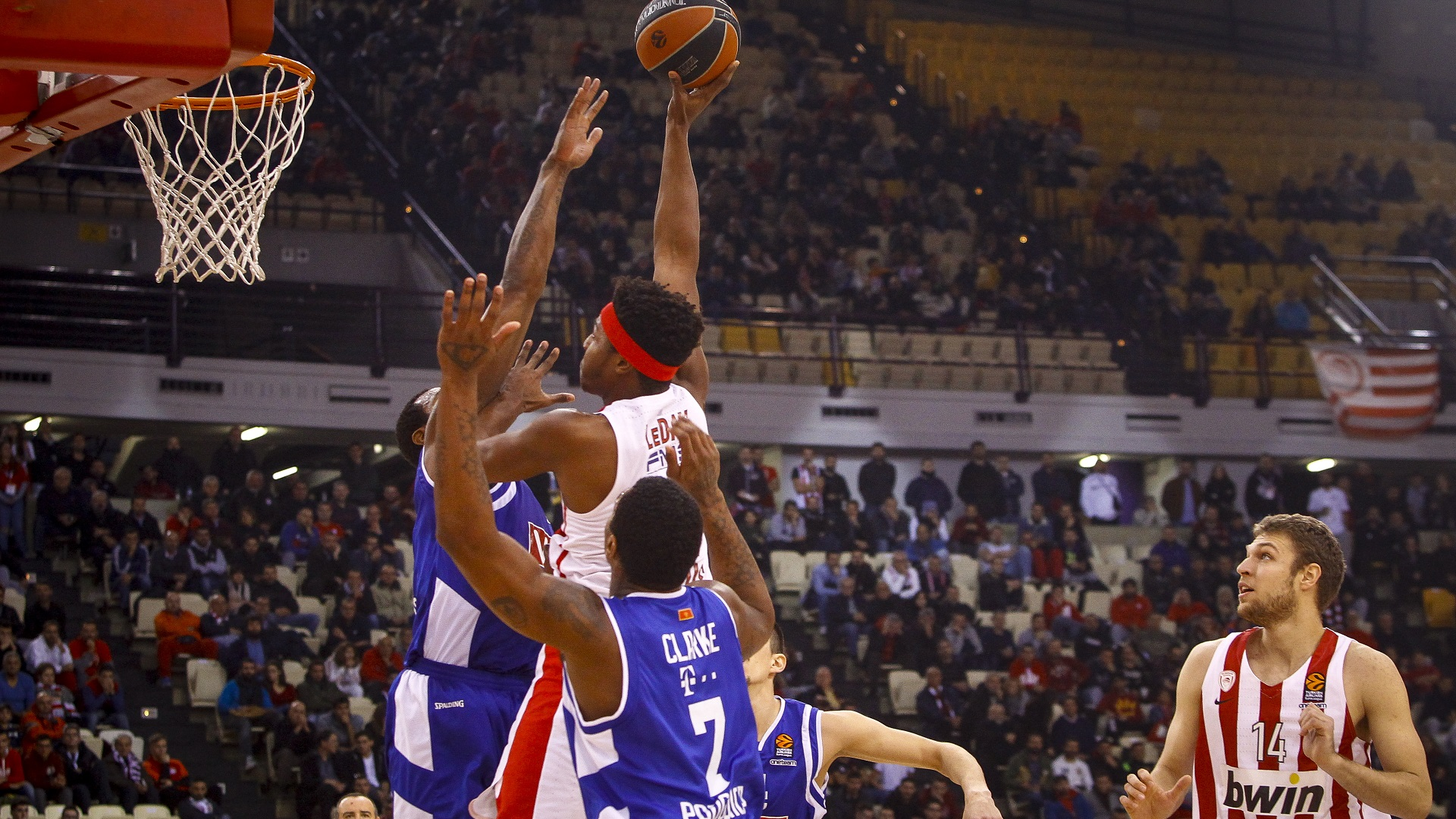 An easy victory over Buducnost