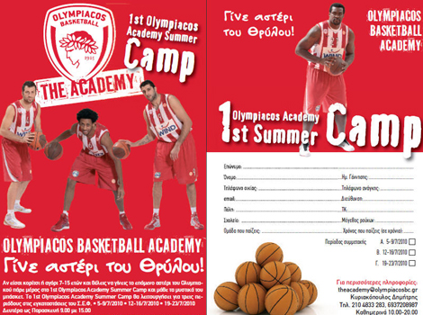 "The ""red and white"" Summer Camps begin"