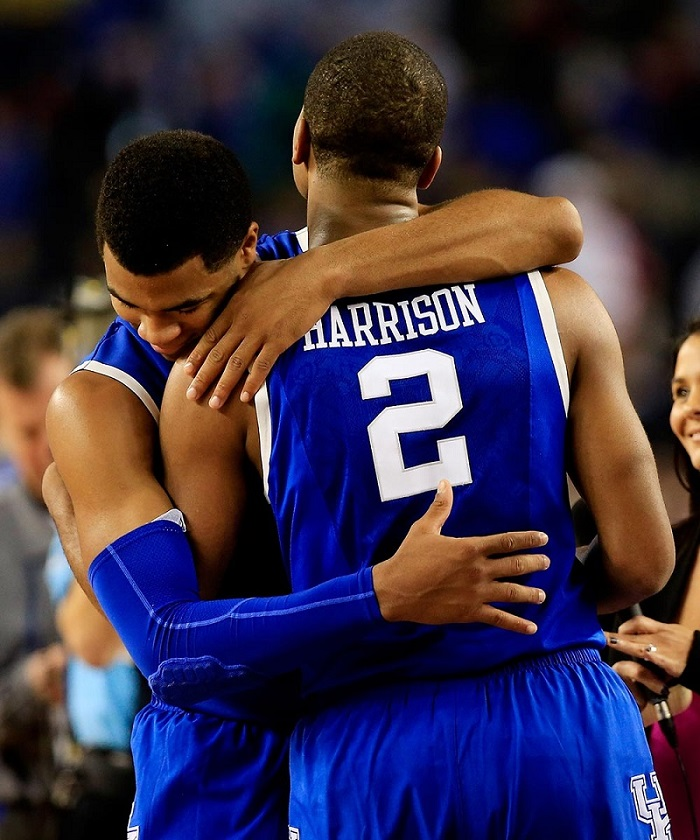 Harrison Bros Hug